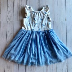 Tommy Bahama Narwhal Jersey and Tulle Dress 3T